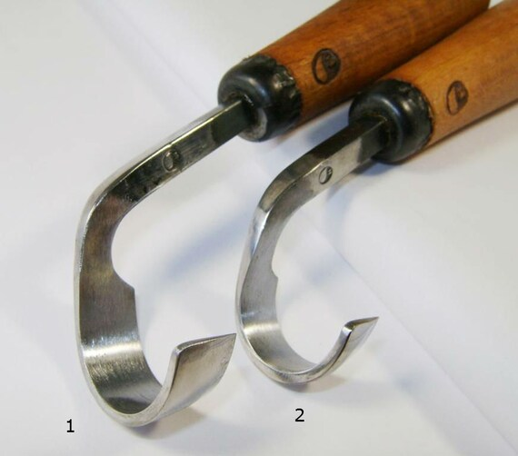 Spoon carving knife hand forged scorp tool