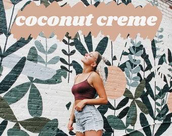 Coconut Creme Lightroom Mobile Preset Package