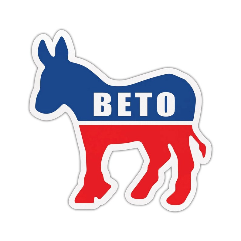 Set of 3 Beto O/'Rourke ORourke For President 2020 Bumper Stickers