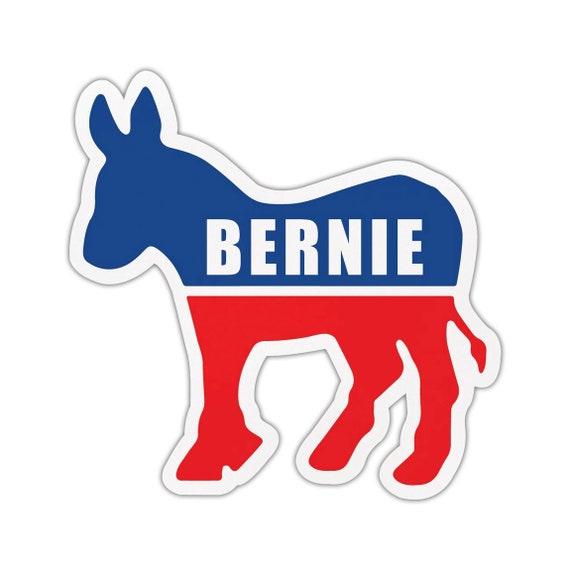 "MY POODLE IS A DEMOCRAT 5/"" DOG POLITICAL STICKER"