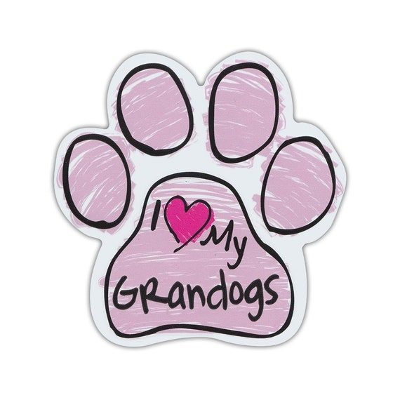 Gifts Dog Paw Shaped Magnets: TALK TO THE PAW Cars Dogs FUNNY Trucks