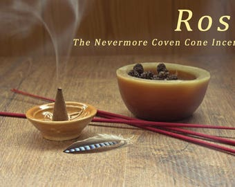 Rose Incense 40 Cones | Cone Incense | Incense | Stress Relief | Aromatherapy
