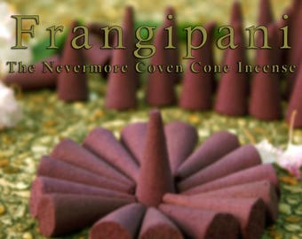 Frangipani Incense 40 Cones | Cone Incense | Incense | Stress Relief | Aromatherapy