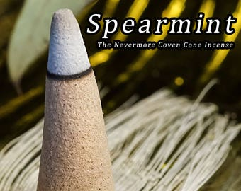 Spearmint Incense 40 Cones | Cone Incense | Incense | Stress Relief | Aromatherapy