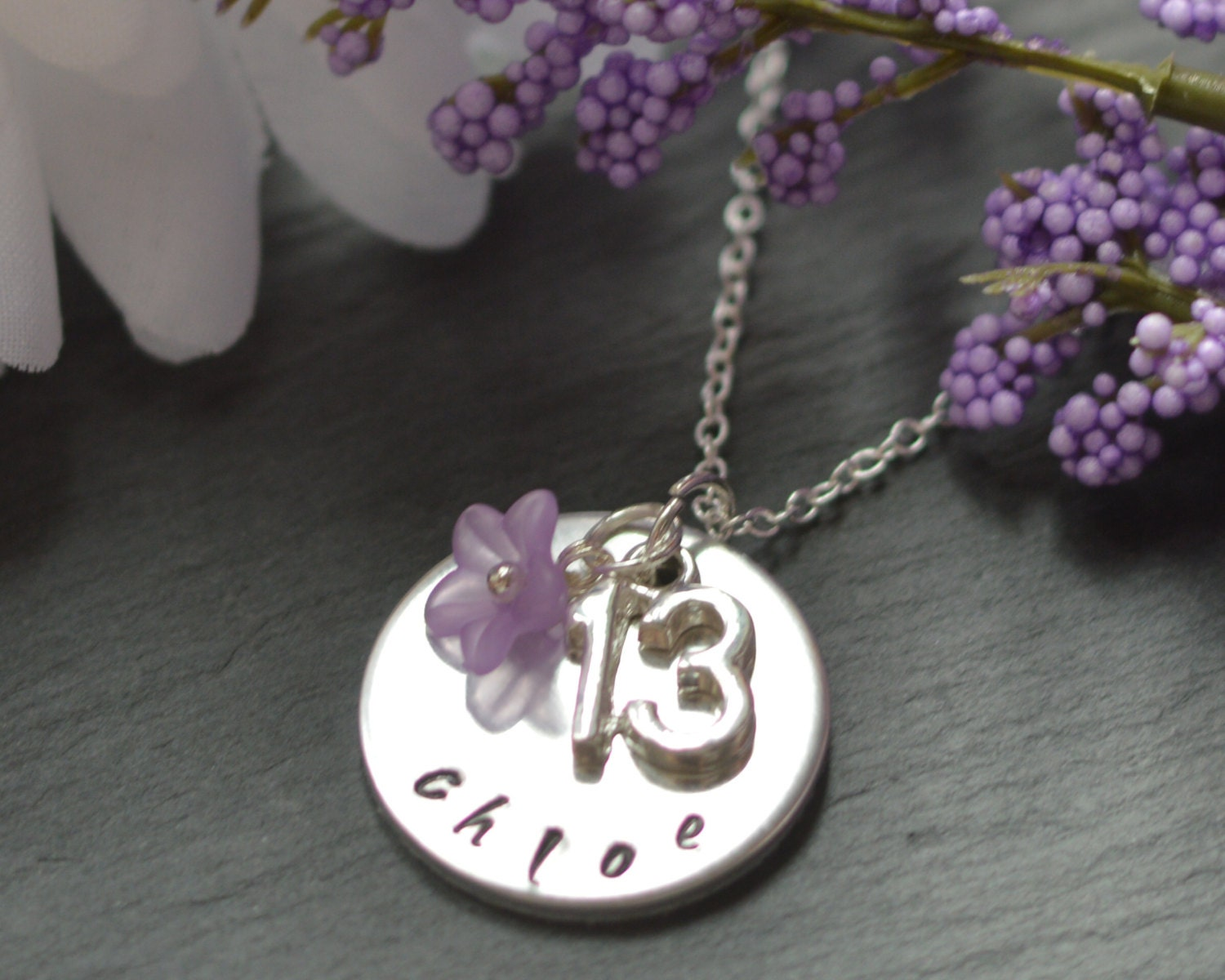 13th Birthday Gift Teenage Girl Jewelery Thirteen Jewellery