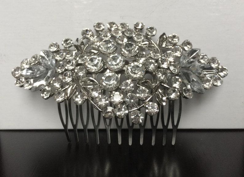 wedding hair comb bridal hair comb wedding hair accessories vintage comb wedding comb crystal comb bridal comb