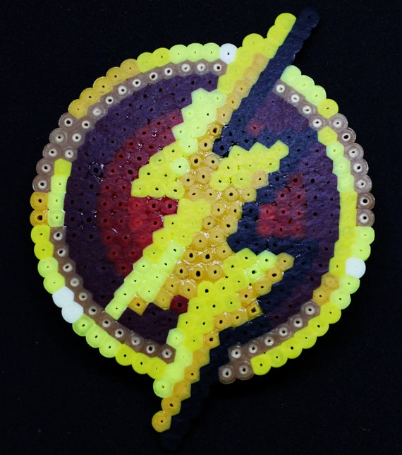 The Flash Symbol Coaster Handmade Original Pixel Art Design Etsy When you create a flash movie, you flash ignores sounds or actions inside graphic symbols. etsy