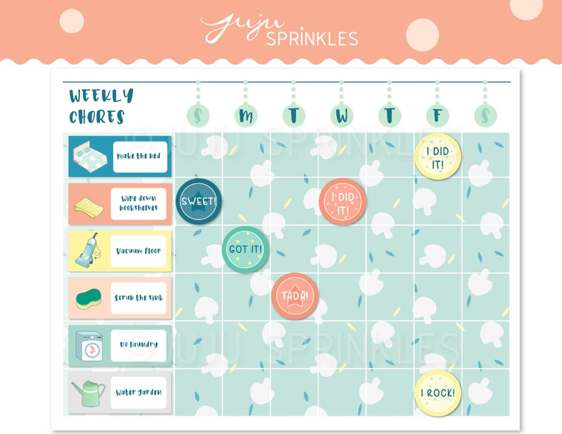 photo regarding Printable Chore Pictures named Printable Chore Chart, Printable Young children Chore Chart, Printable Cleansing Chart, Printable Chore Stickers, Housechore Stickers, Prompt Down load