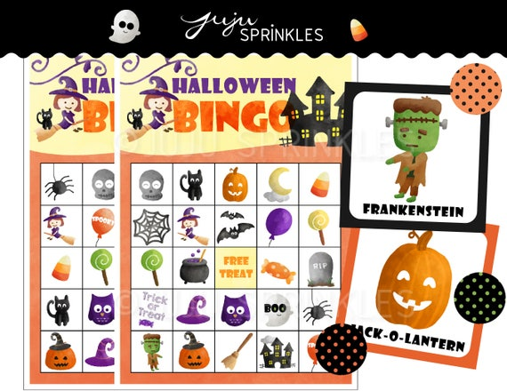 image about Printable Halloween Bingo Cards titled Halloween Bingo Playing cards Printable - Halloween Online games - Halloween Occasion Video games - Prompt Obtain - Halloween Routines - Halloween Printables