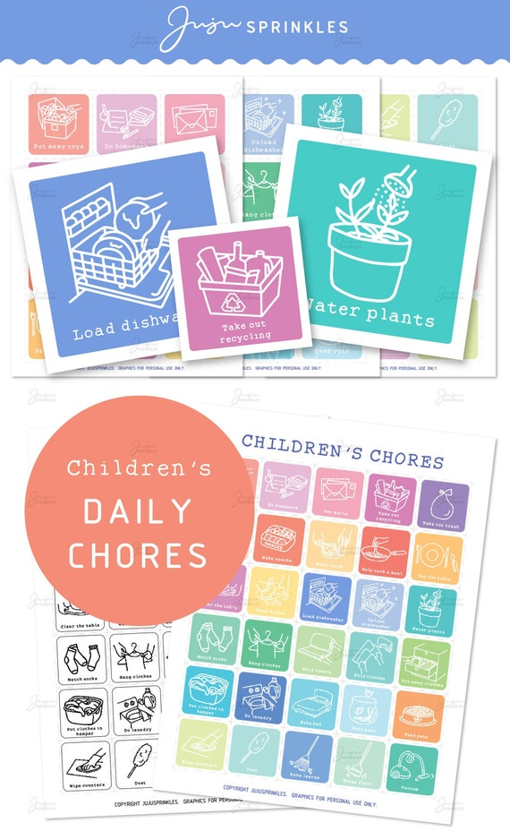 Printable charts and logs to help you keep track of chores and ... | 928x570