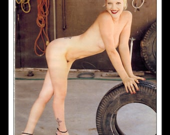 Mature Celebrity Nude Drew Barrymore Single Page Photo Wall Etsy