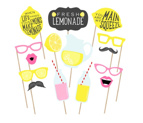 image relating to Printable Photo Booth Props called Printable Lemonade Stand Image Booth Props - Lemonade Photobooth - Lemonade Props - Lemonade Occasion Printables - Lemonade Birthday Celebration