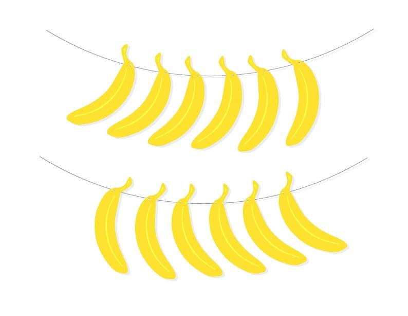 Printable Banana Banner DIY Banana Banner Minimalist Home  b505c6dba5c7