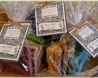 White Elephant Handmade Soap Scraps and Trimmings By The Lb.