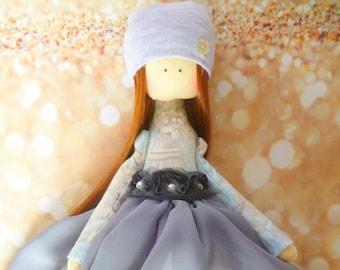 Fabric Doll Rag Doll Cloth Doll Textile Doll Handmade Doll Baby Doll Toys For Girls Tilda doll Soft doll Home Decoration Interior Doll Dolls