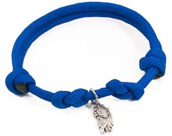 Koi Fish, Adjustable Bracelet, Koi Bracelet, Fish Jewelry, Paracord Bracelet, Blue Koi Fish, Nishikigoi, Japanese Fish, Koi Jewelry, Fishes