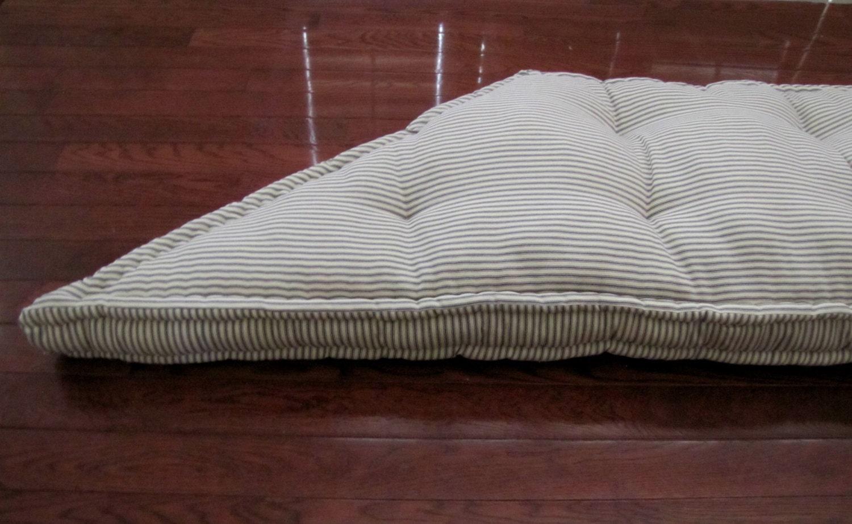 Trapezoid Window Cushion French Mattress Cushion Tufted