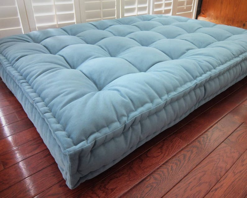 Genial Custom Cushions, Velvet Daybed Mattress, French Mattress Quilting, Hand  Tufted Cushion, Window Seat Or Bench Seat Cushion, Floor Pillow