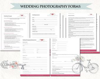 Photography Wedding Contract Wedding Photography Contract Etsy