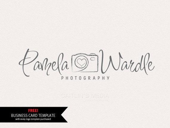 Photography Logo Premade Logo Design Camera Logo Watermark Etsy