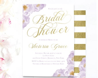 lavender bridal shower love in bloom bridal shower invites peony light purple floral invitations purple bridal shower invitations