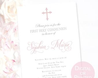 communion invites etsy