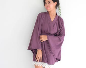 1bae926912 Violet Bridesmaid Robes