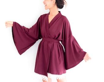 13841eee13 Short Kimono Robe