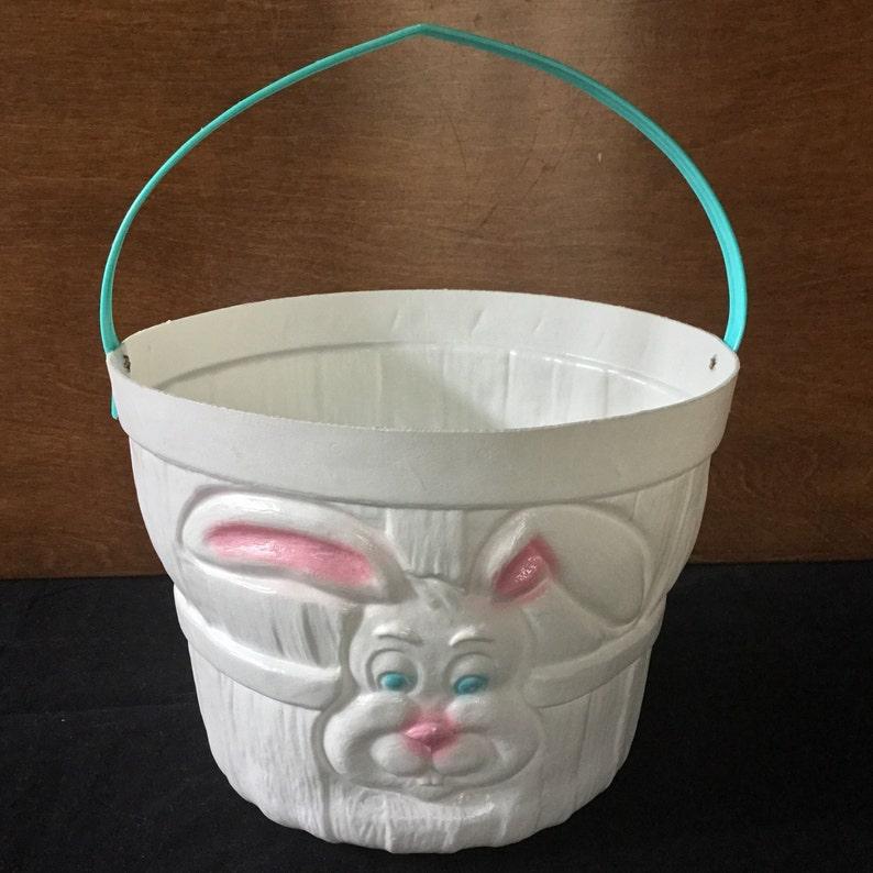 8c39633a186 Vintage Empire Blow Mold Plastic Easter Bunny Rabbit Face