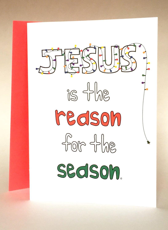 Christmas Card Funny Christmas Card Religious Christmas Etsy