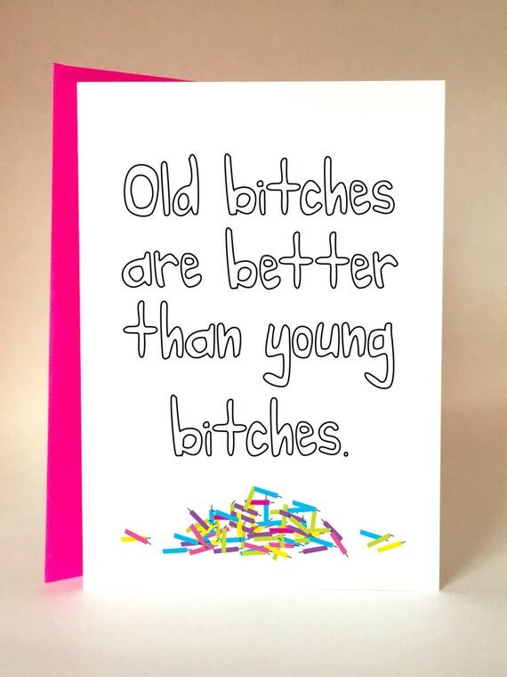 Birthday Girl Funny Birthday Card Friend Birthday Mom Etsy