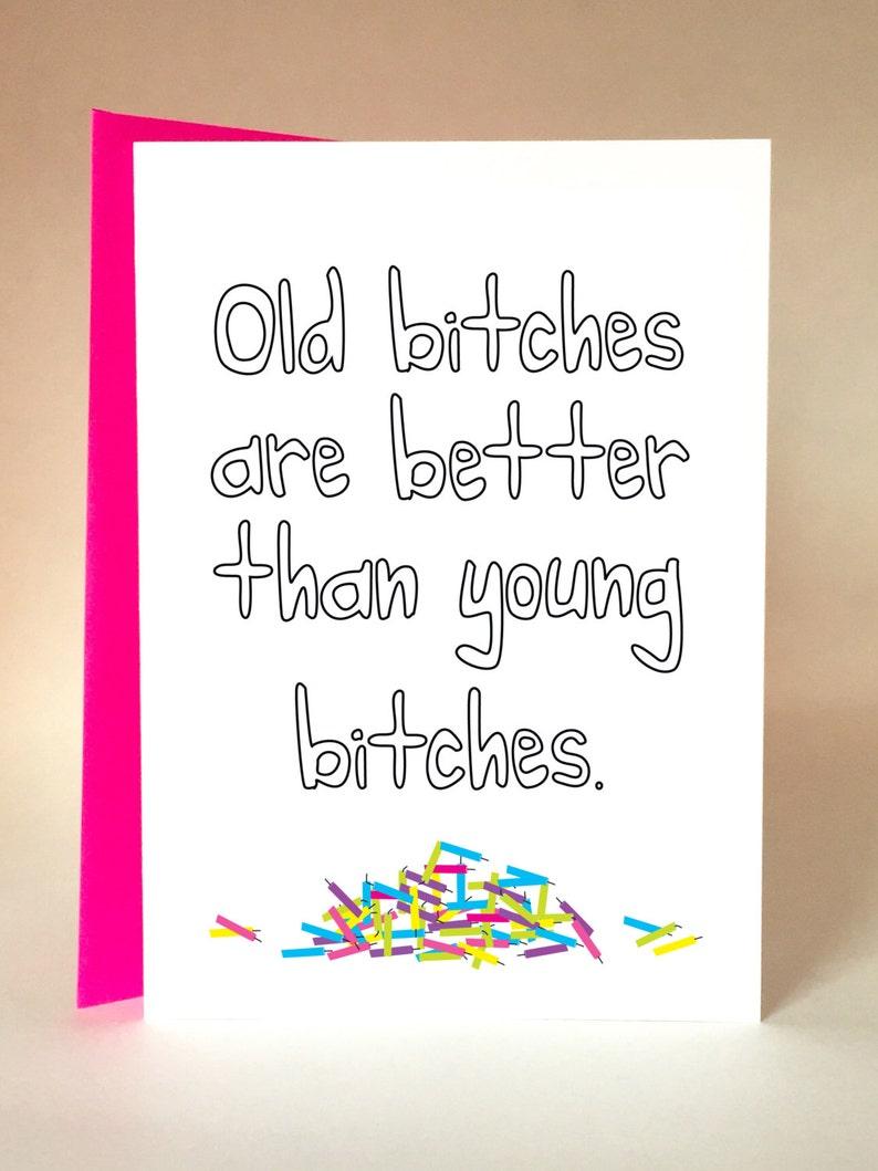 Birthday Girl Funny Card Friend Mom