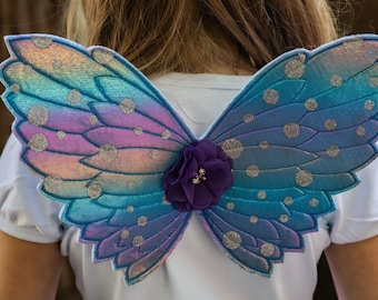 85EE Adult Butterfly Wings Fairy Dress Up Costume Christmas Photo Props Supplies