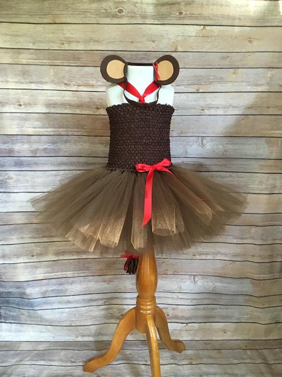 Affe Tutu Kostüm Affe Halloween-Kostüm Affe Tutu Kleid | Etsy