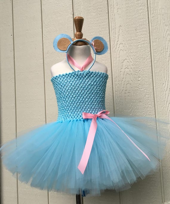 Affe Tutu Kleid blau Affe Tutu Halloween Kostüm blau und | Etsy