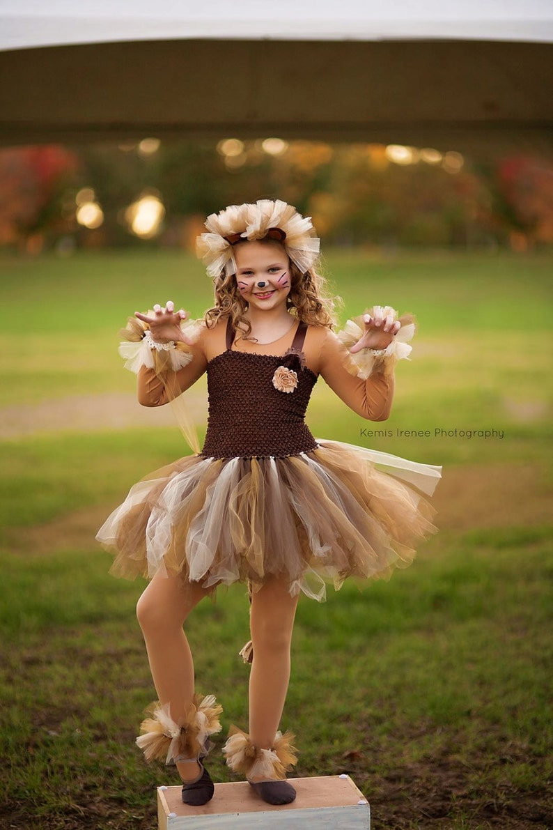 Lion costume - lion tutu - girls dress up - girls halloween costume - girls  costume - dresses for girls - lion dress - halloween costume d6dda1dfc46f