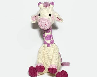 Crochet Romy Giraffe, Plush Giraffe, Amigurumi, Stuffed Giraffe Toy , giraffe doll, Toy Giraffe, Crochet Animal , Giraffe Plushie , Crochet