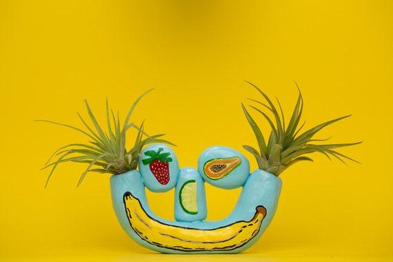 FRUIT HEAD SMILEY