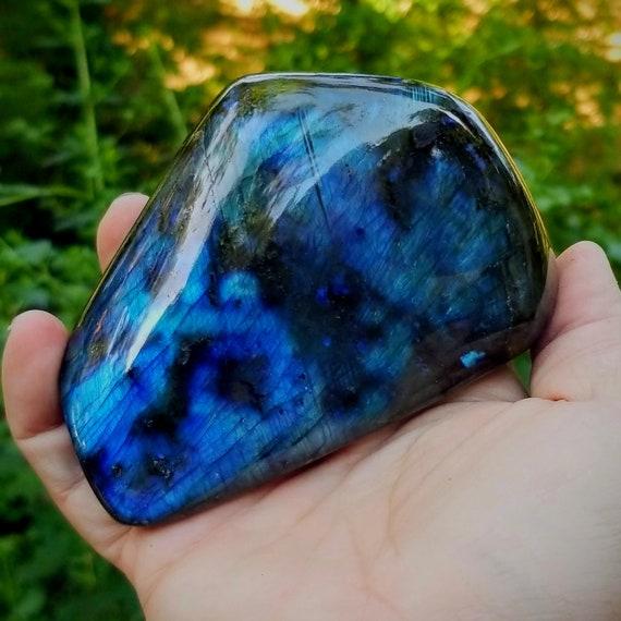 Blue Labradorite Display Stone