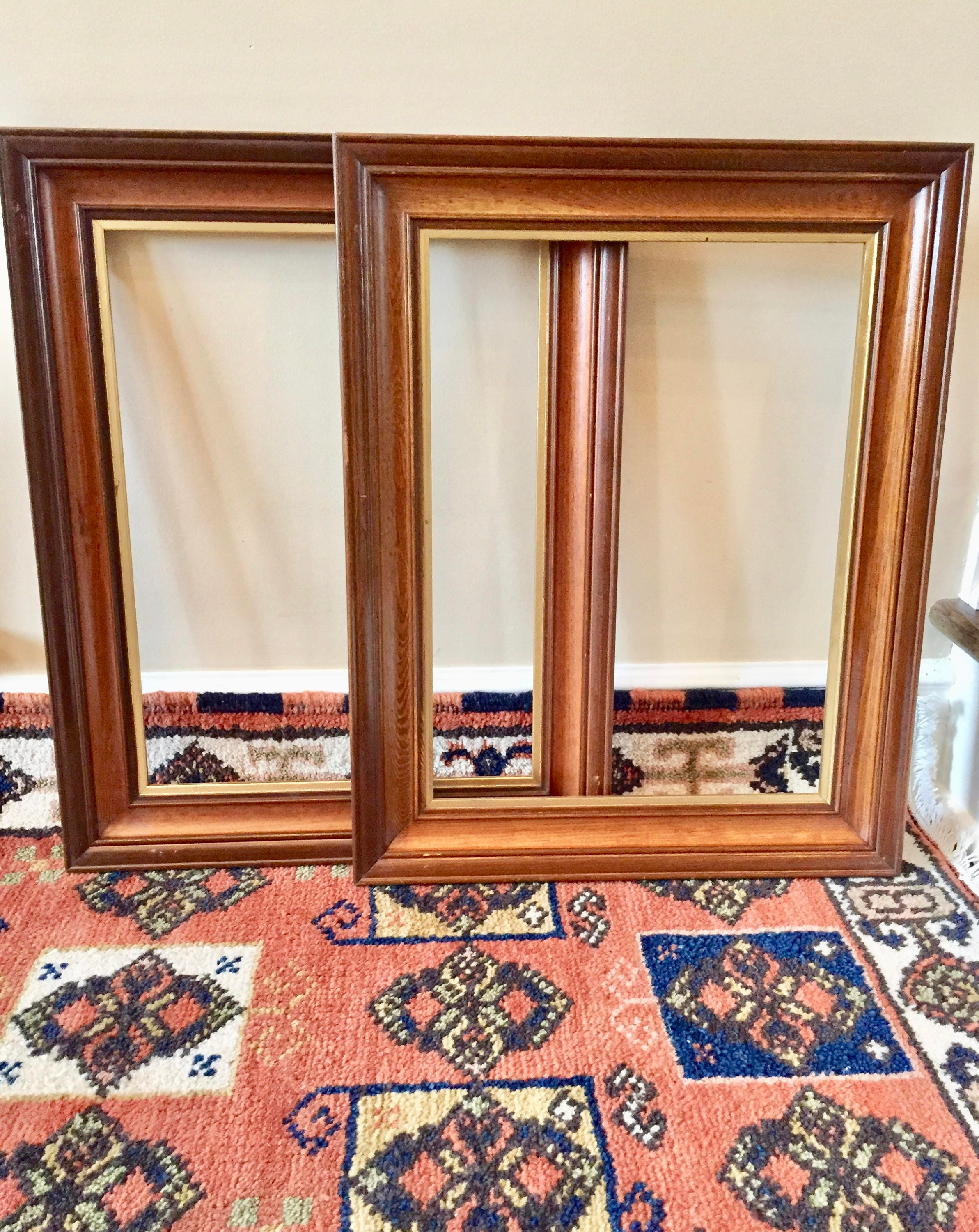 antique wood picture frames. Sold By TwoBeContinued Antique Wood Picture Frames