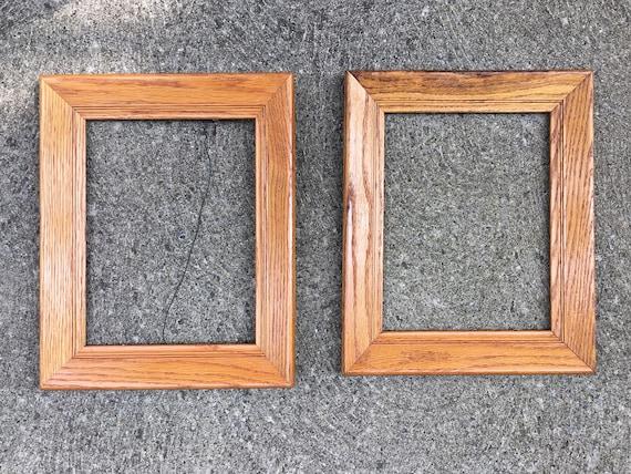 Wood Frame For Art Frame Wood Picture Frame Vintage Frame Etsy