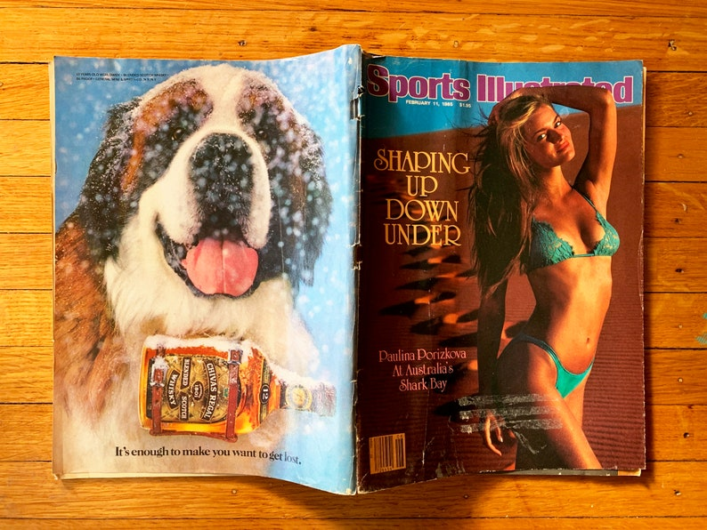 Sports Illustrated Swimsuit Magazine Vintage Magazine Sports image 0