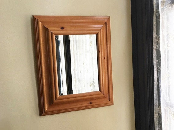 Vintage Mirror For Wall Mirror Wood Mirror Antique Mirror Old Etsy