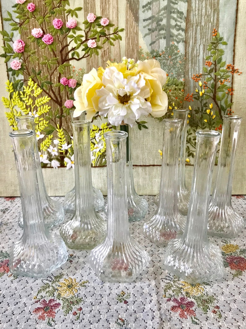 glass vases wedding centerpiece vases for wedding vases etsy rh etsy com milk glass vases wedding centerpieces tall glass vases wedding centerpieces