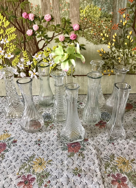 Glass Vases Wedding Vases For Wedding Centerpiece Vases Glass Etsy