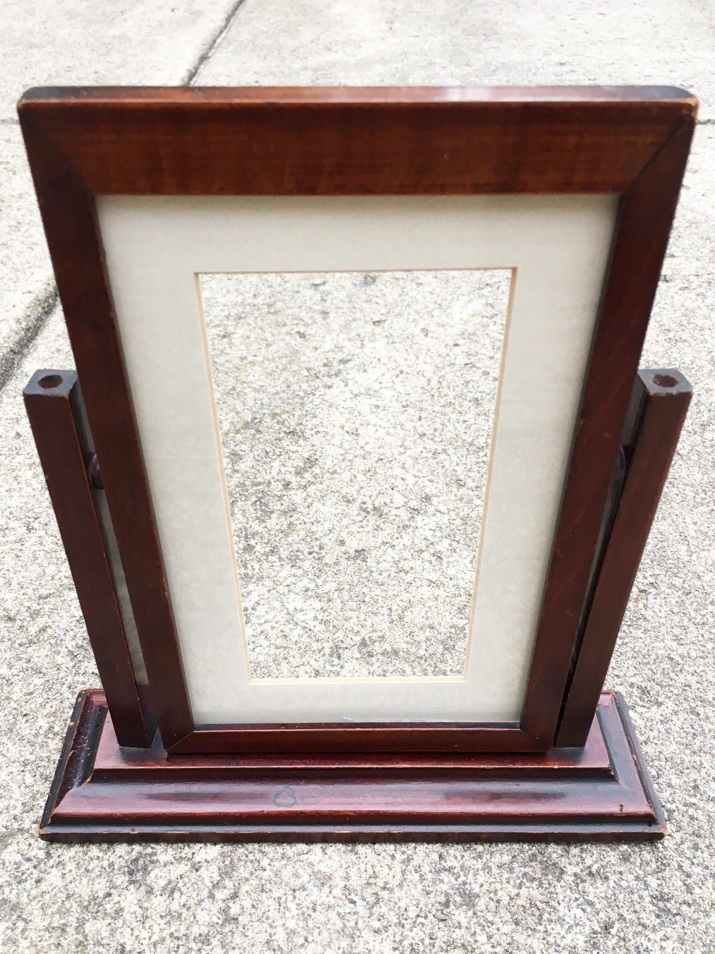 Wood Frame Vintage Frame Wood Picture Frame Mid Century Frame Art ...
