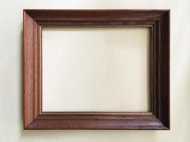 5200dac6de24 Vintage Frame Wood Frame Wood Picture Frame for Wall Frame Old   Etsy