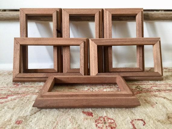 Wood Frame Wood Picture Frames Vintage Frames Art Frames For Etsy