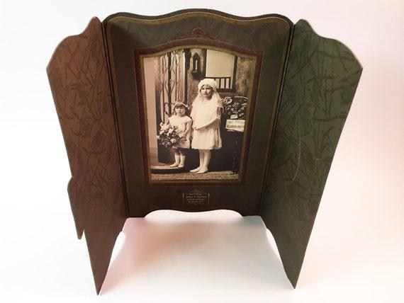 Vintage Frame Cardboard Frame Vintage Old Photos Of People Etsy