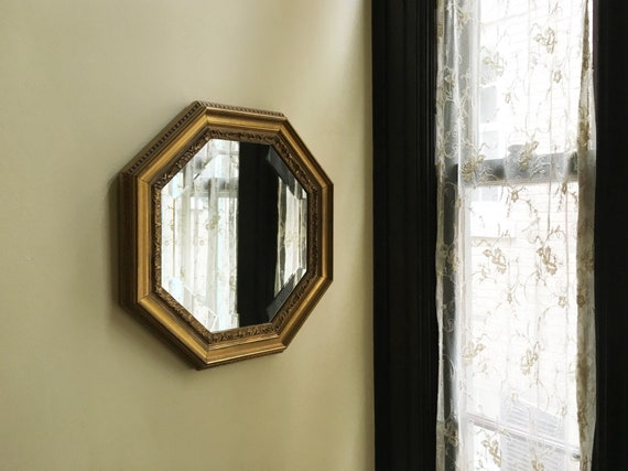 Vintage Mirror Decorative Mirror Wall Mirror Gold Mirror Etsy